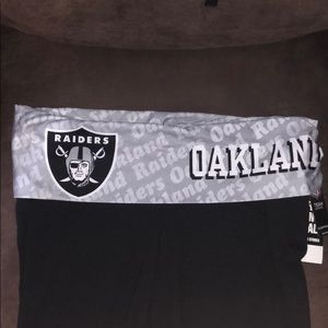 Brand new NFL Raiders Capri Yoga Pants so L